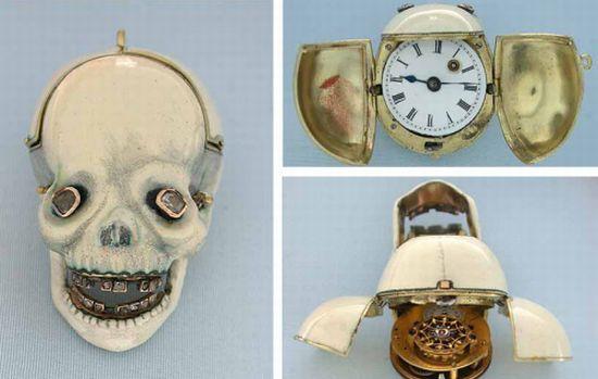 Reloj de Pulsera de Calavera