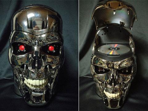 Reproductor de DVD de Terminator 2