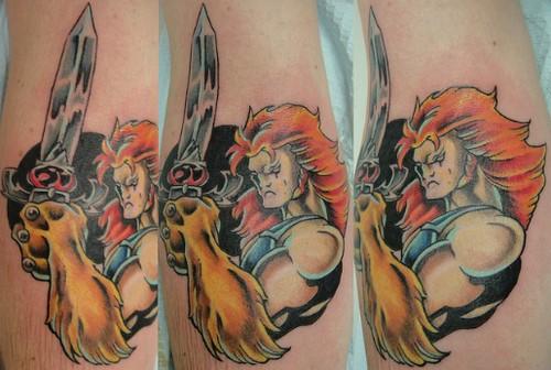 Tatuaje de Lion-O