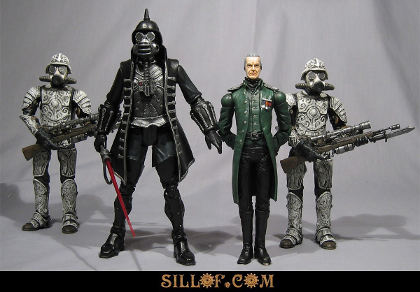 Villanos de Star Wars Steampunk