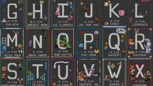 Alfabeto de Videojuegos