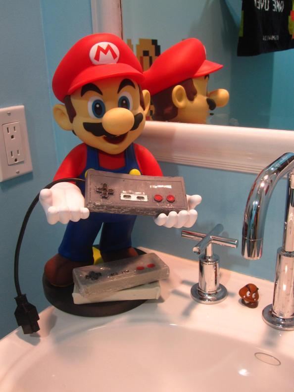 Baño de Super Mario Bros 1