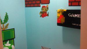 Baño de Super Mario Bros 3