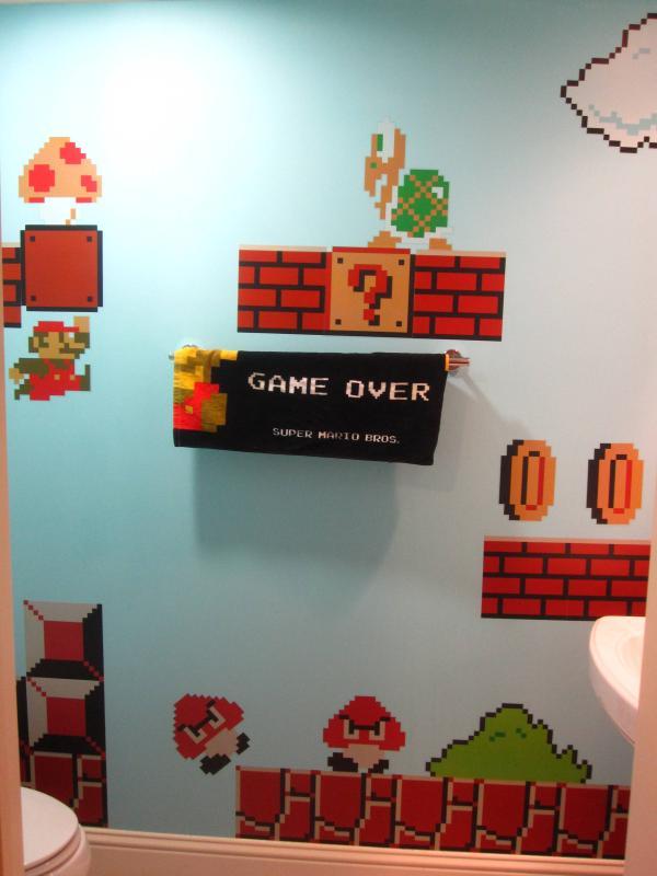 Baño de Super Mario Bros 5