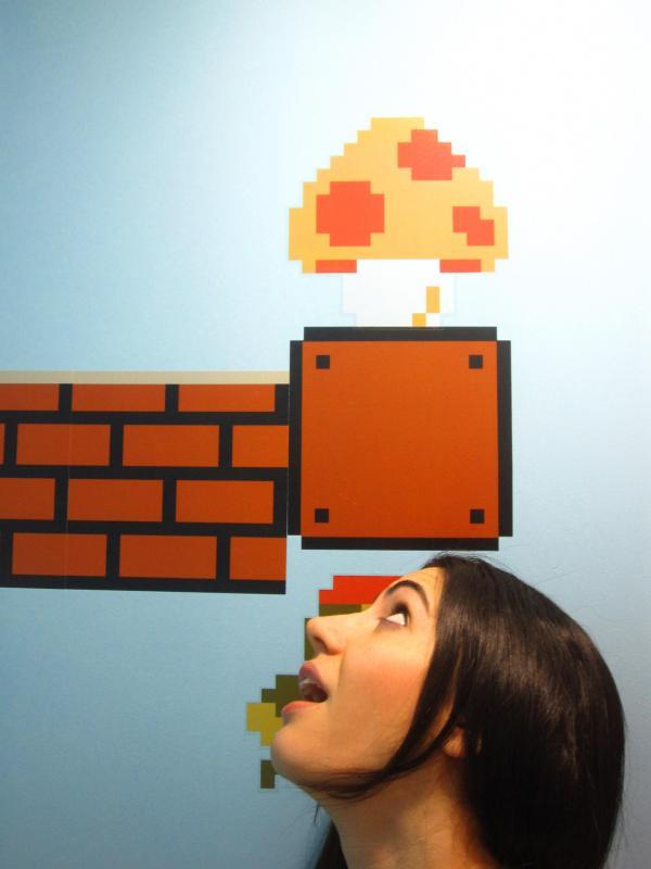 Baño de Super Mario Bros 6
