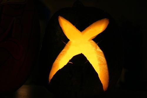 Calabaza con el Logo de Xbox