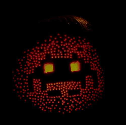 Calabaza de Space Invaders