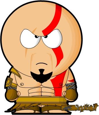 Kratos South Park