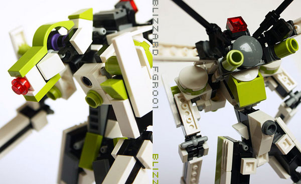Mecha Lego 2