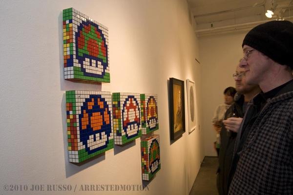 Mosaico de Cubo Rubik del Mushroom de Mario