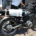 Motocicleta Alimentada a Oxígeno 1