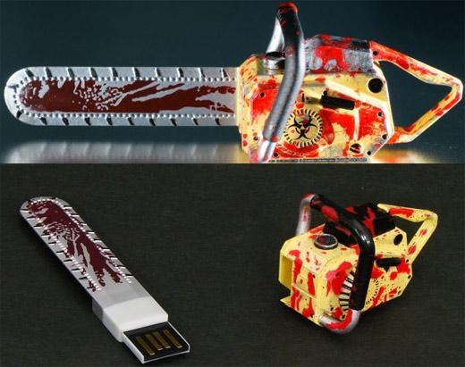 Motosierra USB de Resident Evil