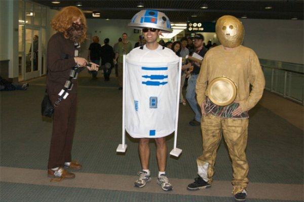 Peor cosplay de star wars