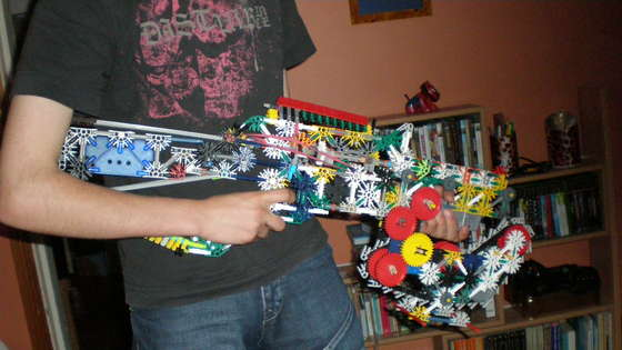 Pistola Motosierra Knex