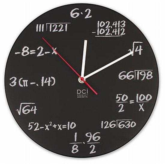 Reloj Matemático