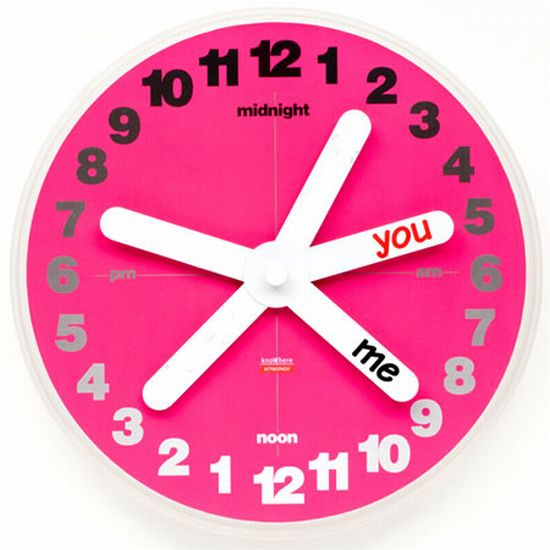 Reloj de Pared You and Me