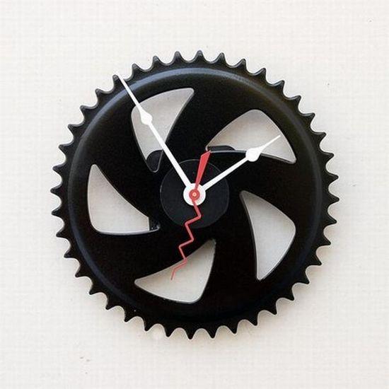 Reloj de Pared de Cambio de Bicicleta