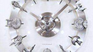 Reloj de Pared de Star Trek