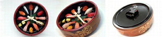 Reloj de Pared de Sushi