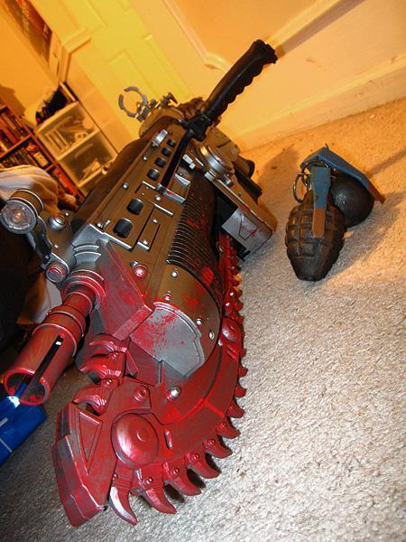 Replicas de Lancer de Gears of War