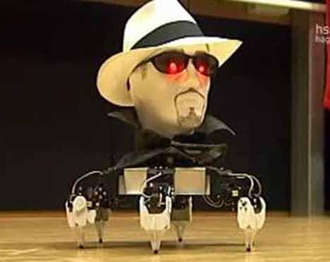 Robots que cantan y bailan 6