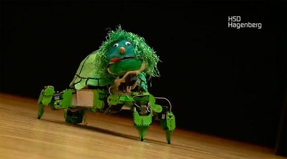 Robots que cantan y bailan 7