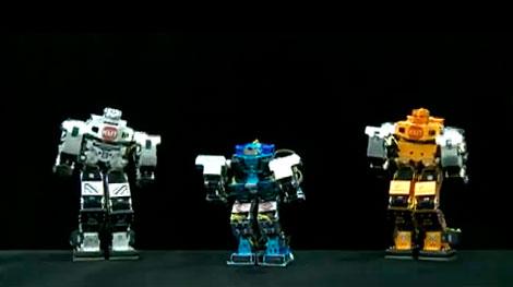 Robots que cantan y bailan 9