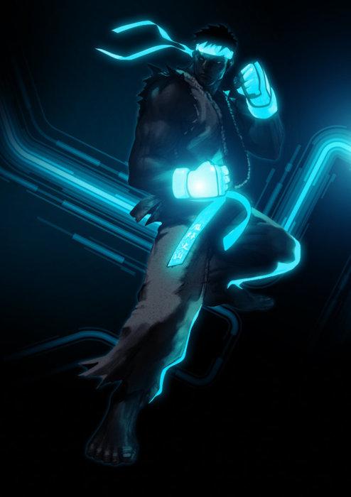 Ryu Blue Tron