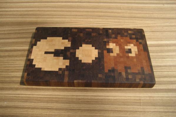 Tabla de Cortar de Pac-Man
