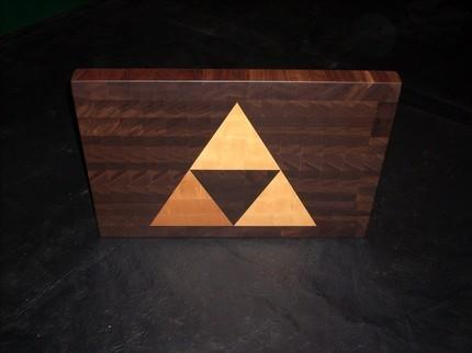 Tabla de Cortar de Triforce de Zelda