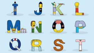 Alfabeto-Simpsons
