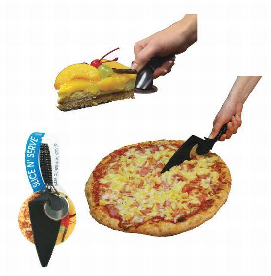 Corta-Pizza Corta y Sirve