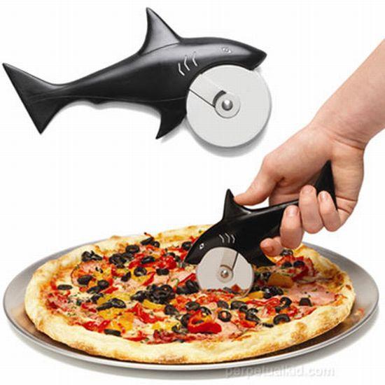 Corta-Pizza de Tiburón