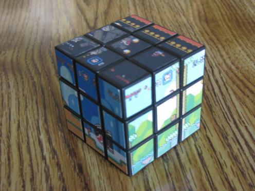 Cubos Rubik de Super Mario Bros 1