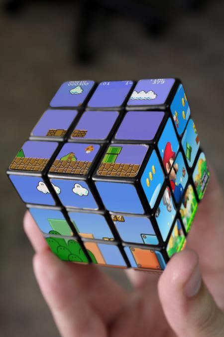 Cubos Rubik de Super Mario Bros 2