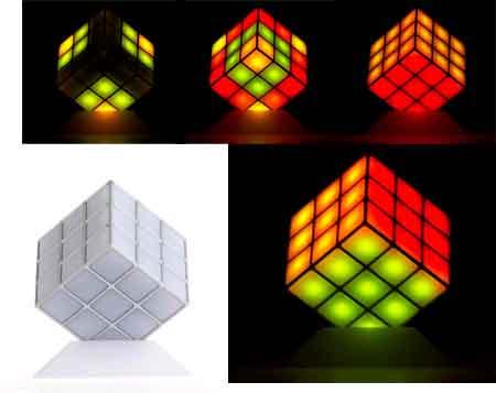 Lámpara Rubik 1