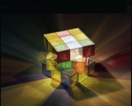Lámpara Rubik 2