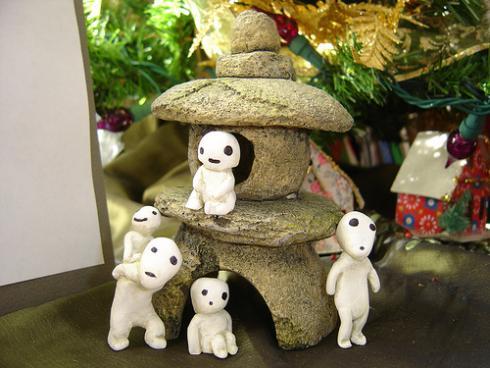 Ornamentos Navideños de Kodama 3
