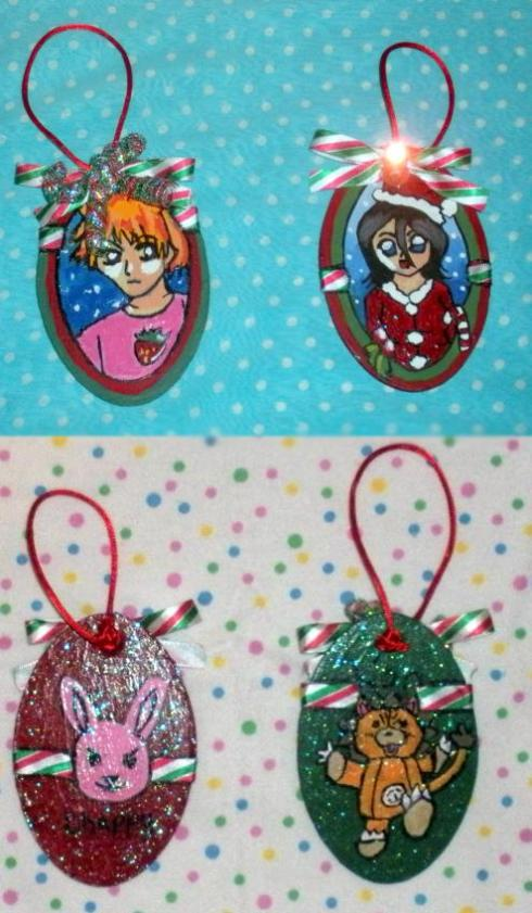 Ornamentos de Navidad de Bleach 1