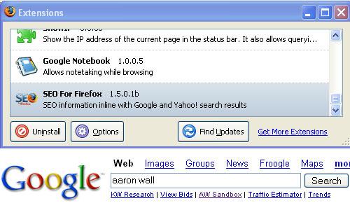 SEO for Firefox
