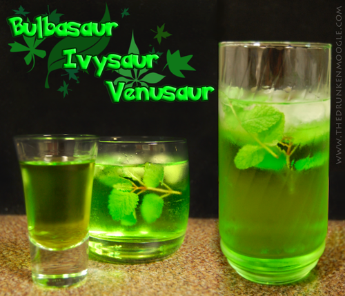 Cocktail de Bulbasaur