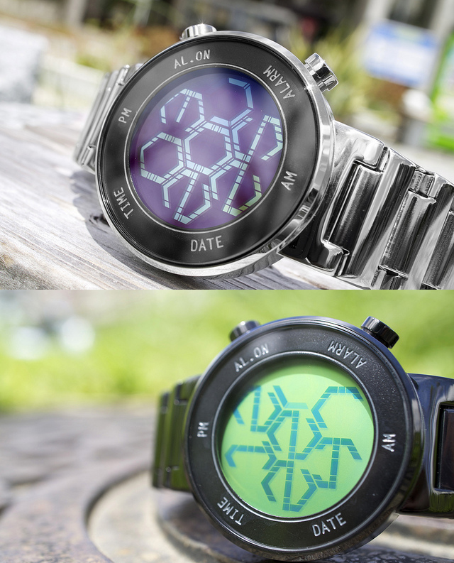 kisai-zone-lcd-watch