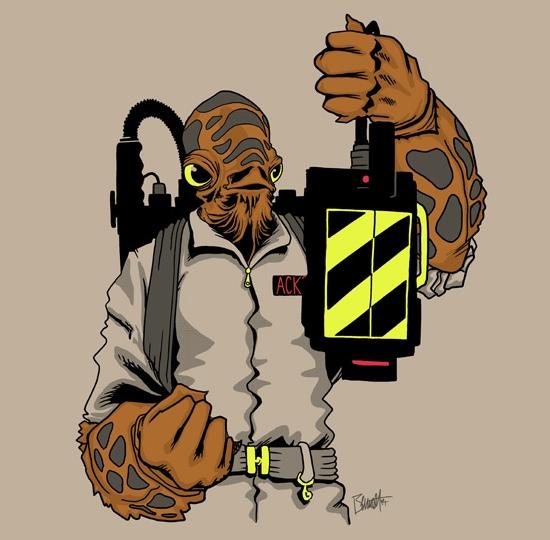 Ackbar-Ghostbusters-remera