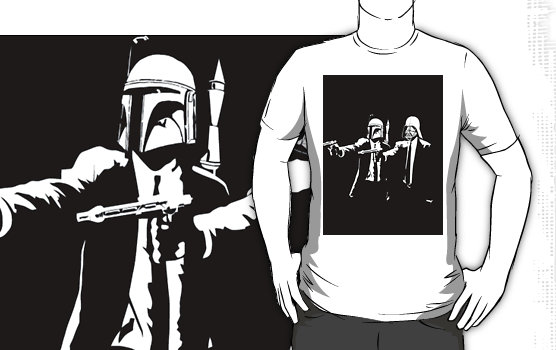 Star-Wars-Pulp-Fiction-remera