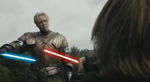 Jaime Brienne Lightsaber Battle